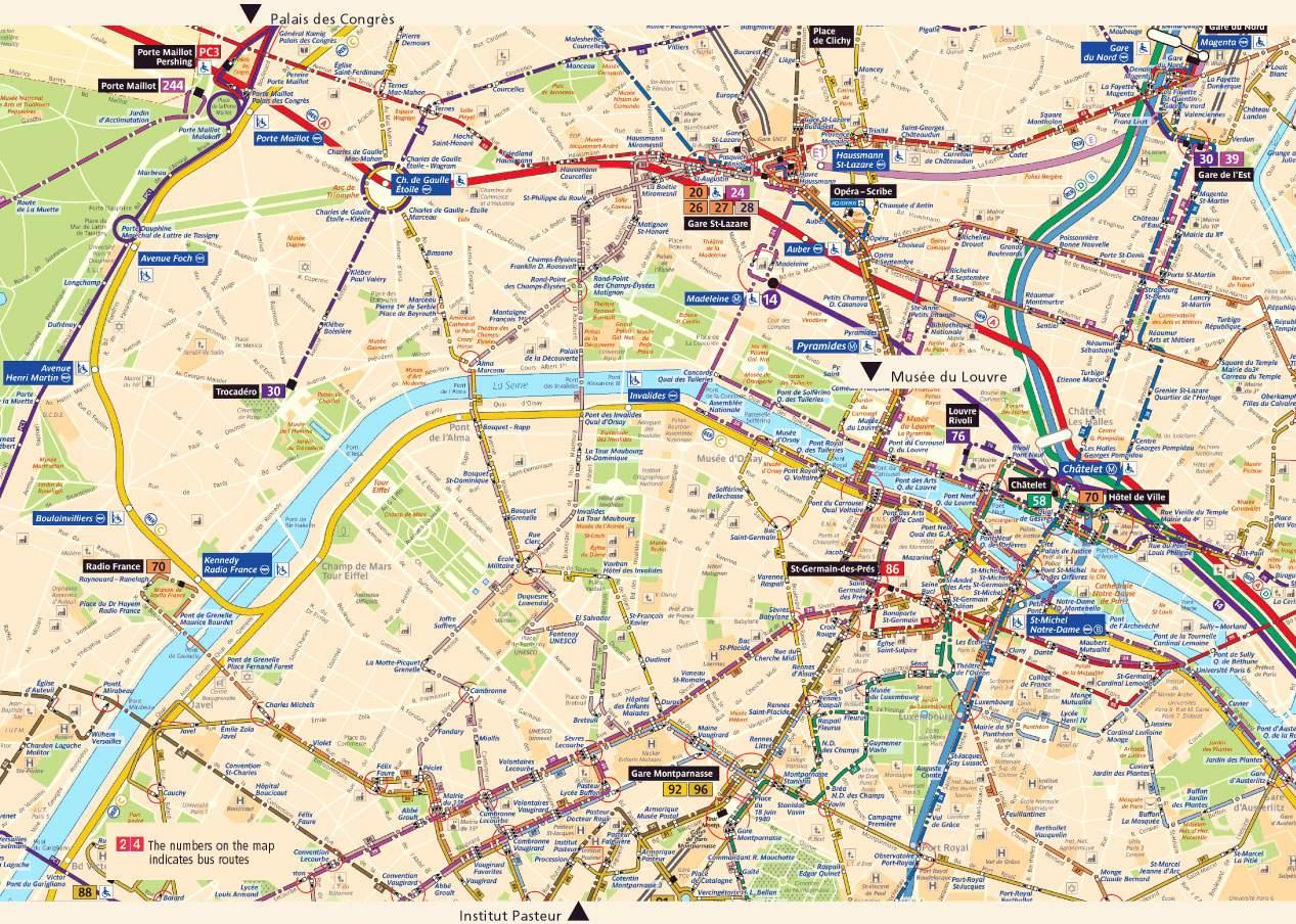 Ejemplo Mapa de paris