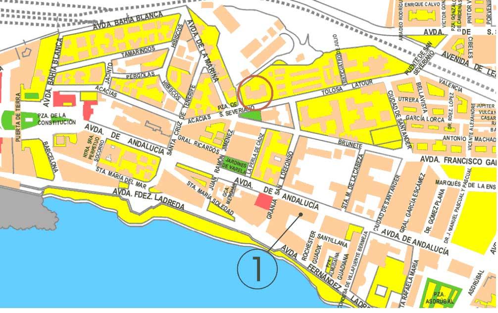 Mapa bahia blanca online