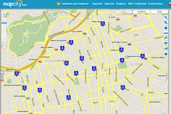 Mapa city gratis