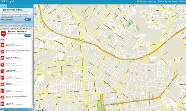Mapa city manual