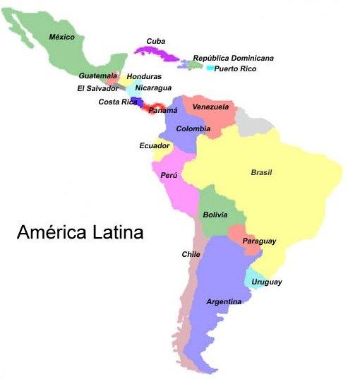 Mapas de america imagenes - Imagui
