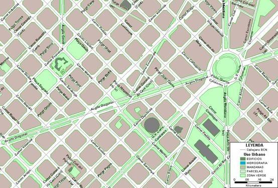 Mapa de calles de