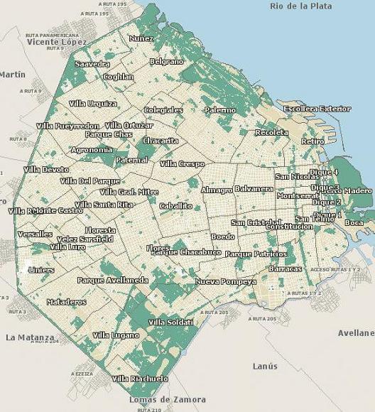 Mapa de capital