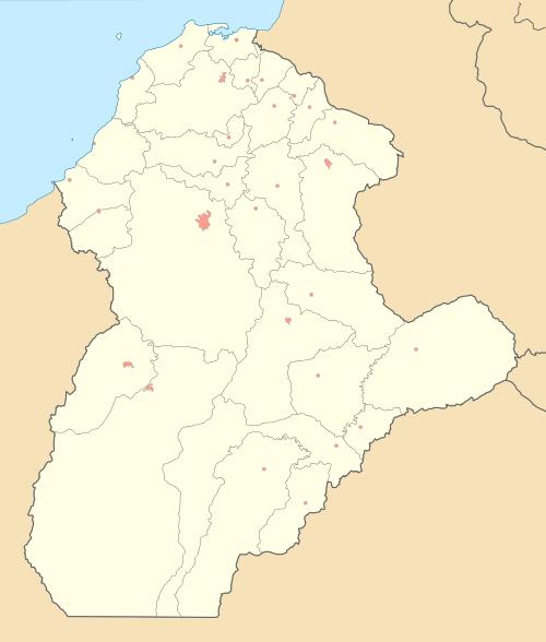 Mapa de cordoba colombia