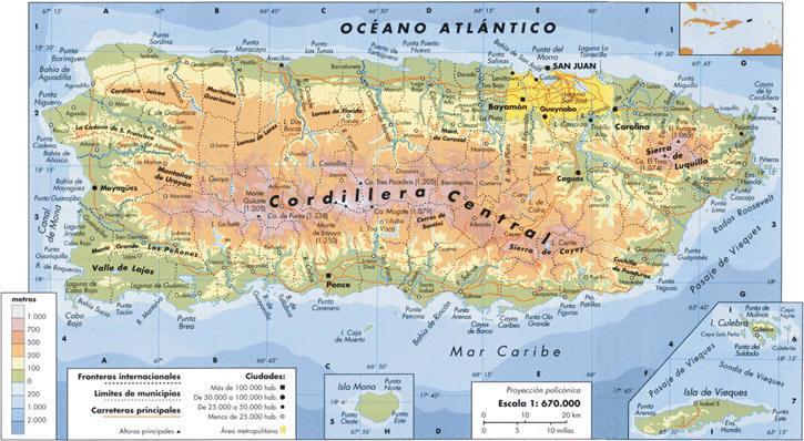 Mapa de puerto rico online