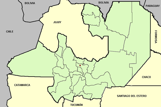 Mapa de salta