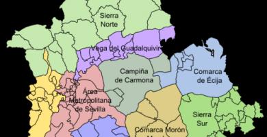 Mapa de sevilla