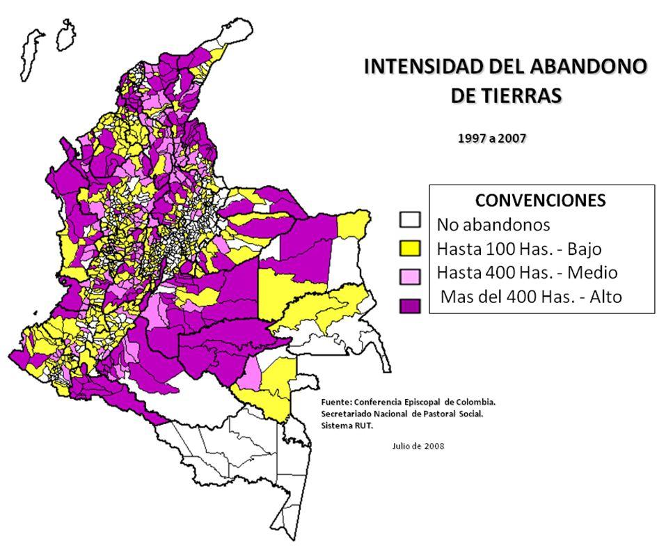 Mapa economico colombia industria