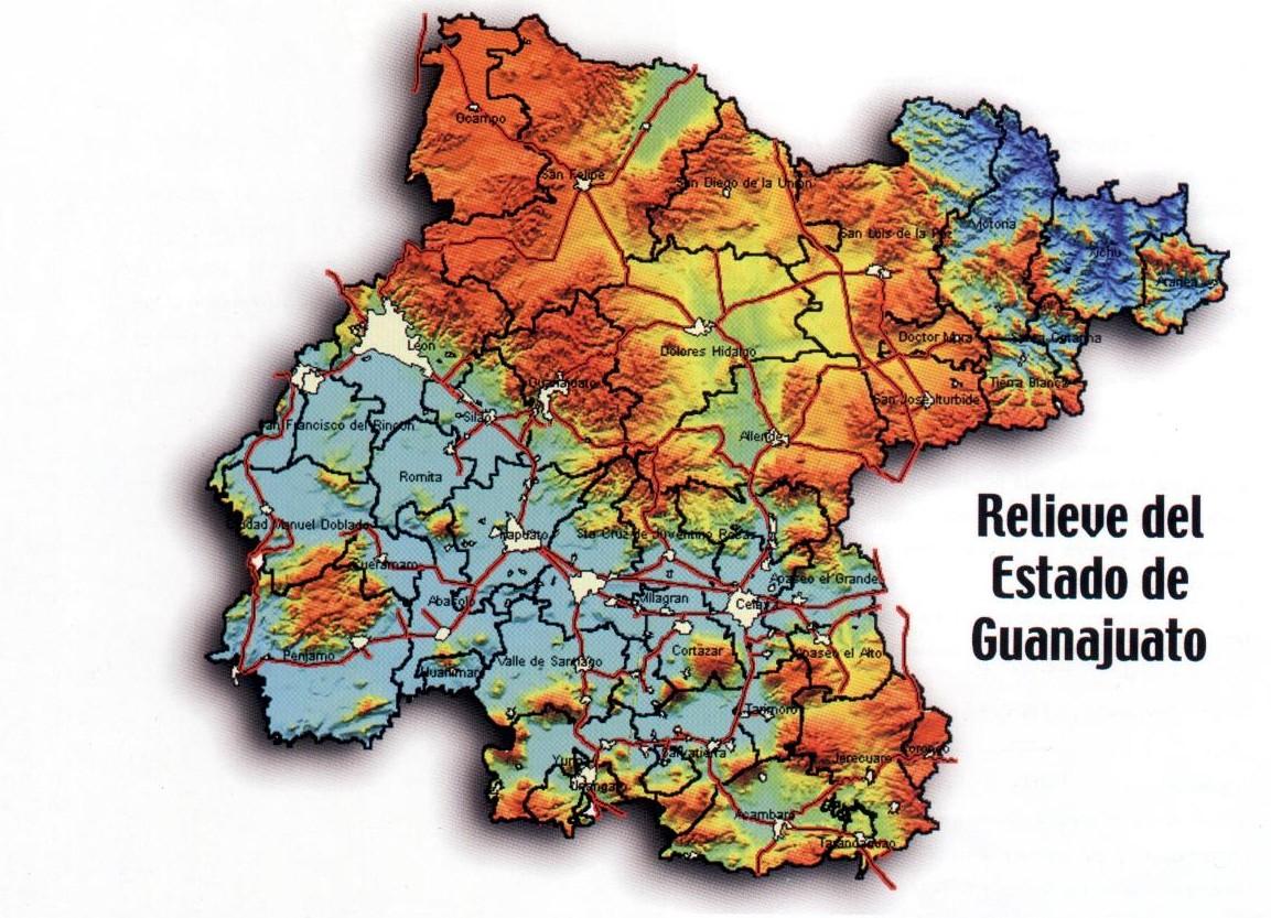 Mapa guanajuato