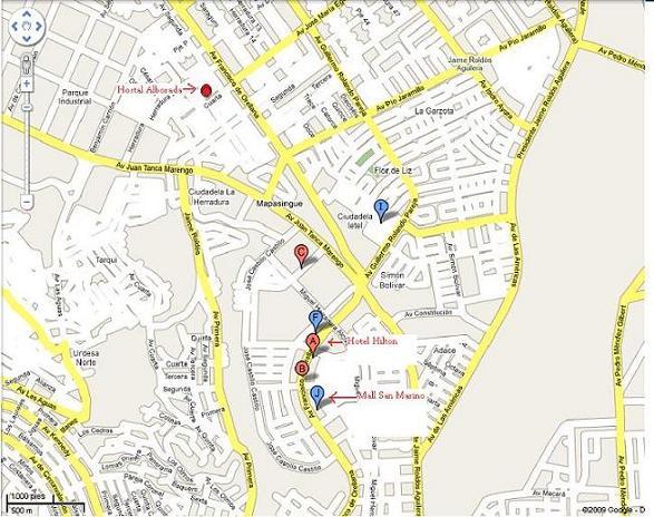 Mapa guayaquil