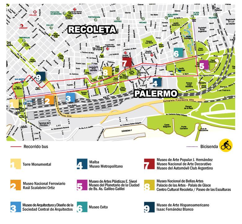 mapa barrios buenos aire:
