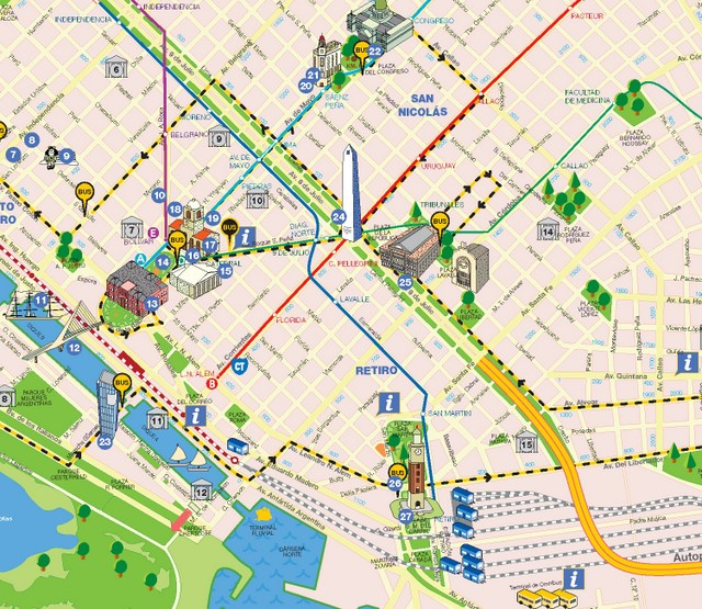 Mapa interactivo buenos aires gratuito