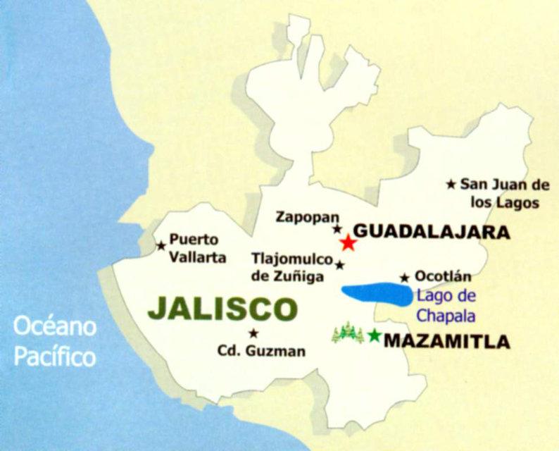 Mapa jalisco