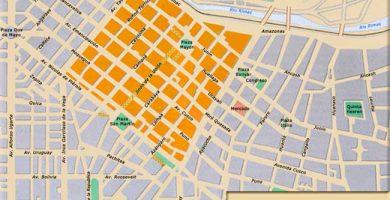 Mapa lima