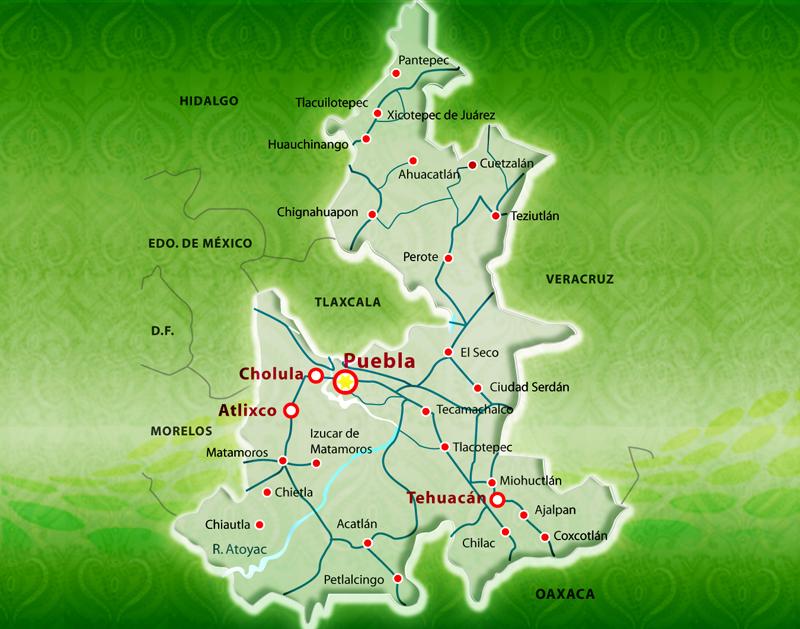 Mapa puebla