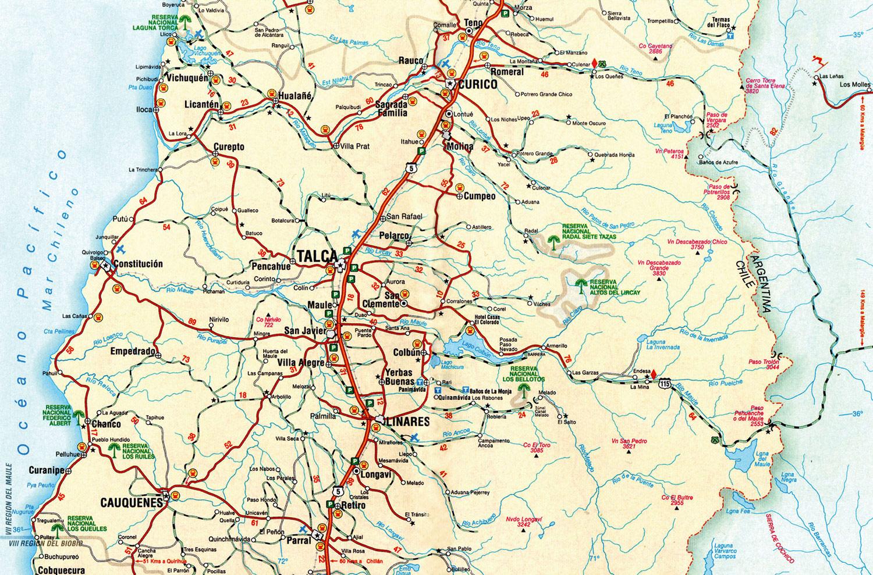 Mapa rutero