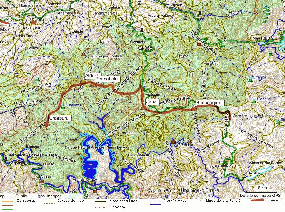 Mapa topografico para que sirven