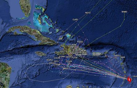 Ver el mapa de República Dominicana por satelite, foto