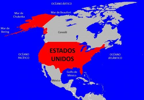 Ver el mapa de estados unidos, fotos