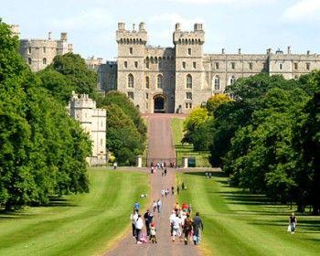 Mapa del Castillo de Windsor (Inglaterra)