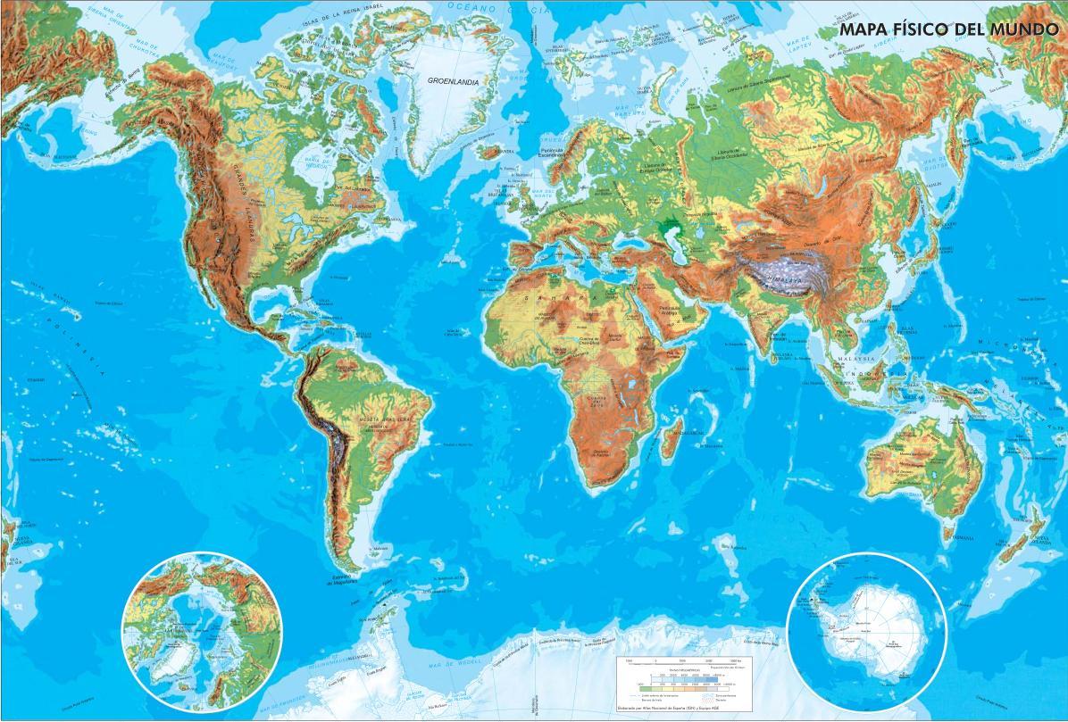 Ejemplos de mapa fisico