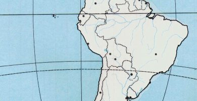 Mapa america latina online