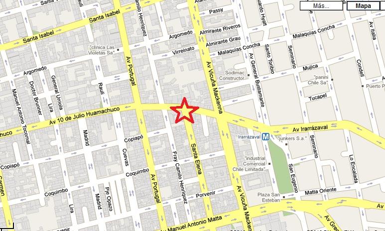 Mapa city