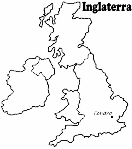 Mapa de Inglaterra londres