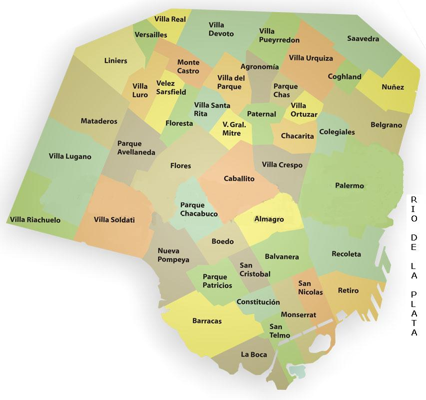 Mapa de bs as