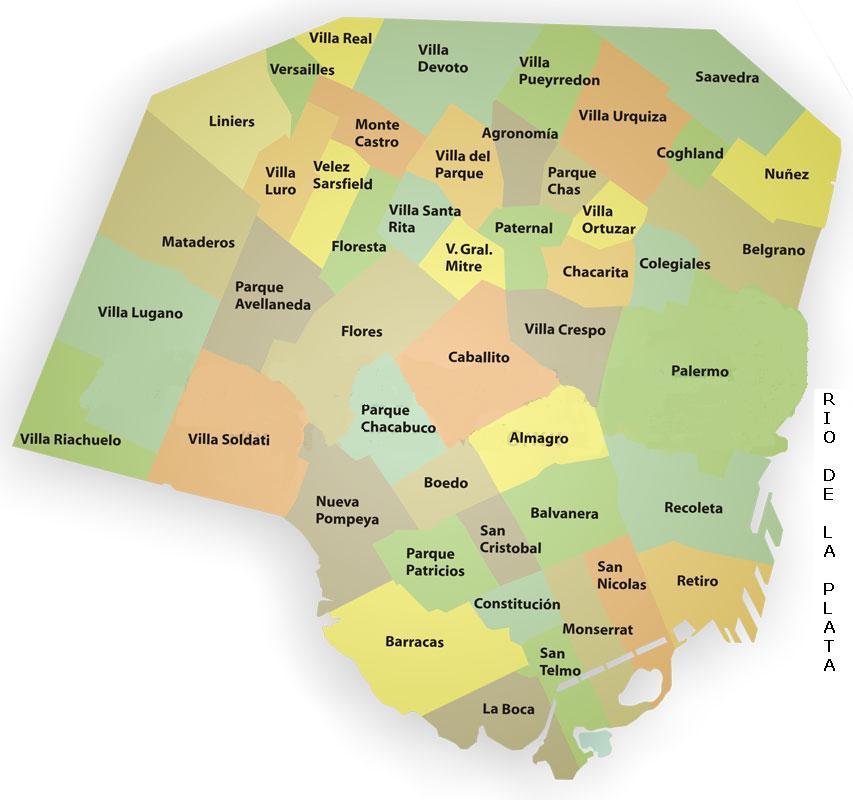 Mapa de caba