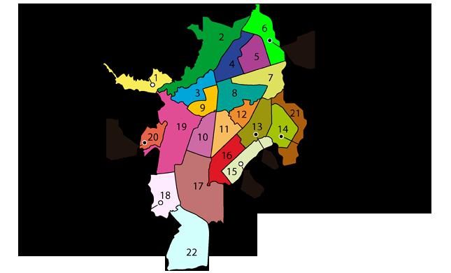 Mapa de cali
