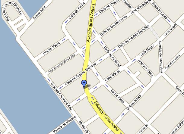 Mapa de calles