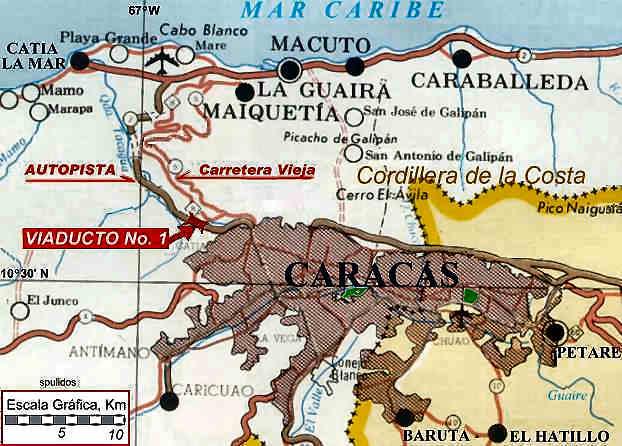 Mapa de caracas online