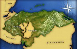 Mapa de honduras colonial