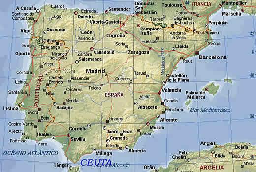 Madrid Capital De España Mapa.Mapa De Madrid