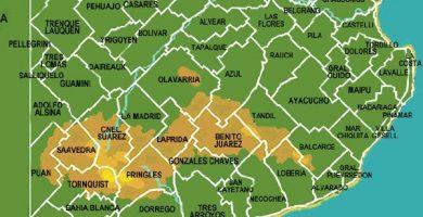 Mapa de provincia de buenos aires