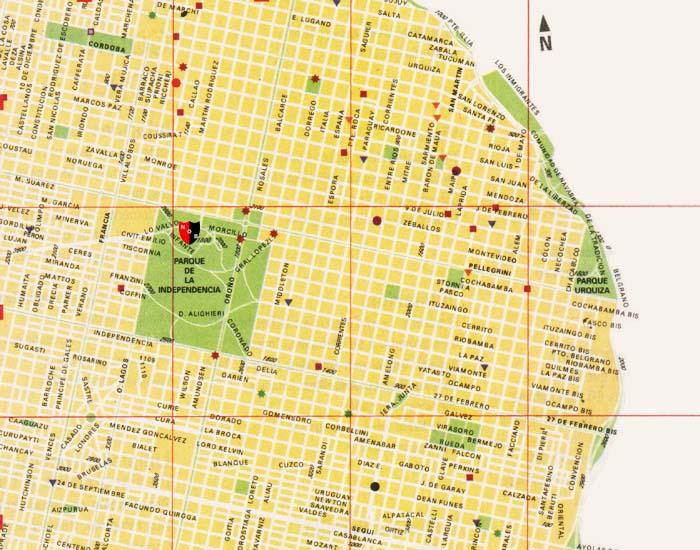 Mapa de rosario