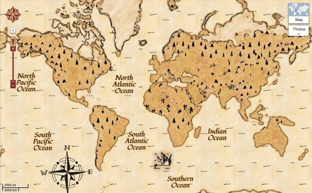 Mapa de tesoro