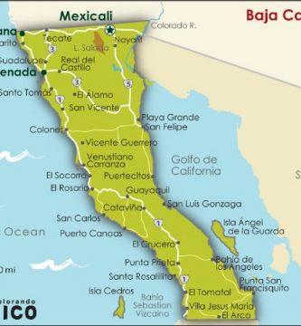 Mapa de tijuana