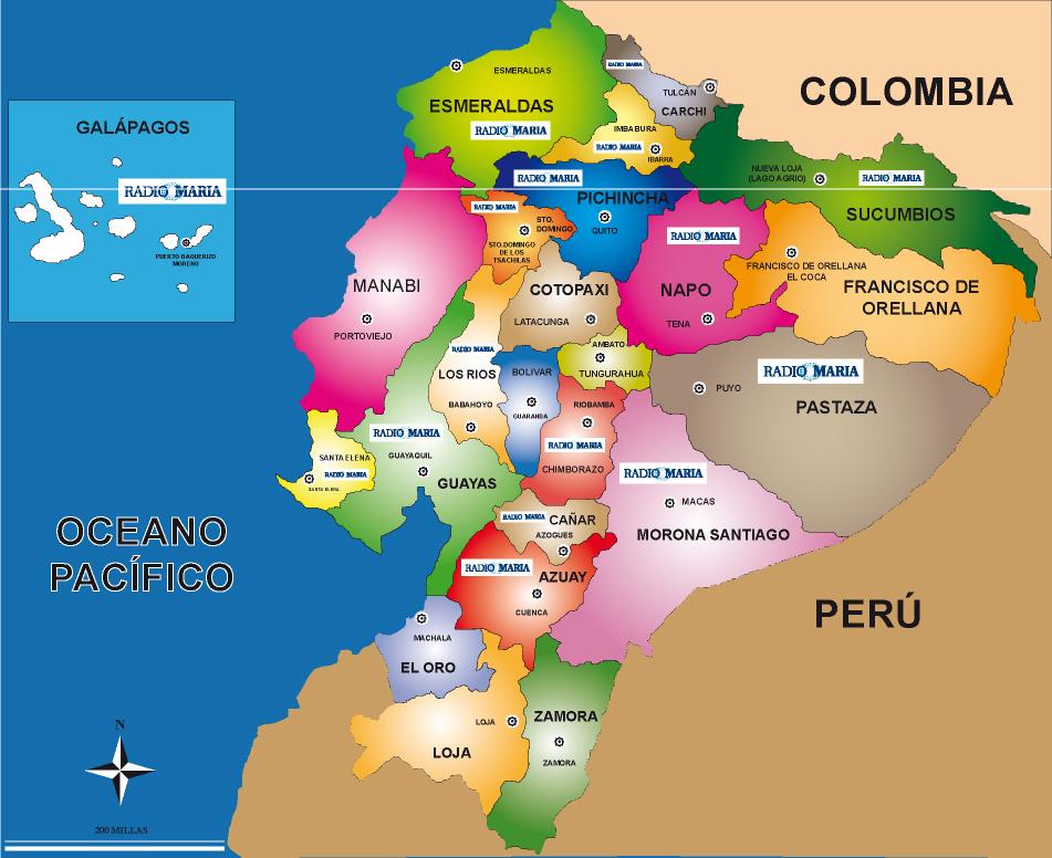 Mapa del ecuador final