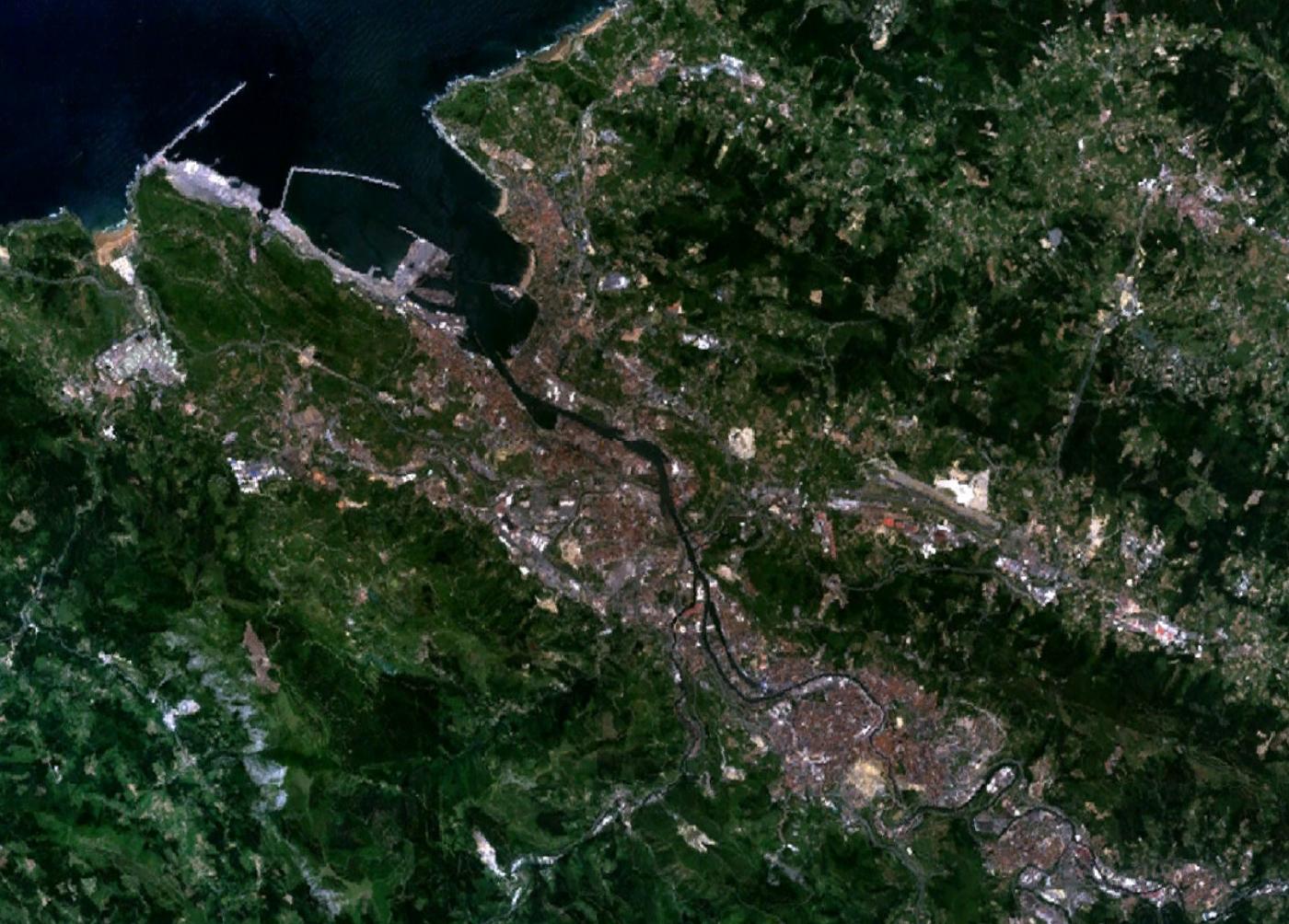 Mapa en vivo satelital