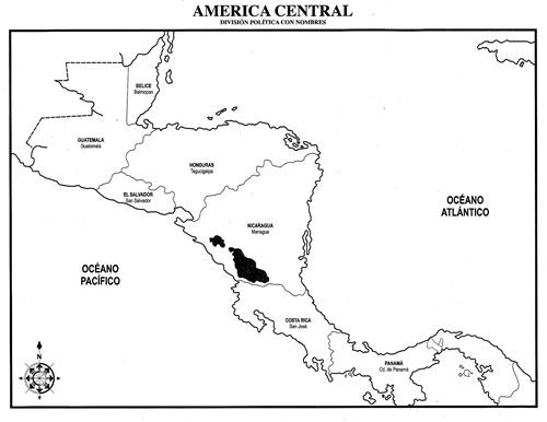 Mapa interactivo america central