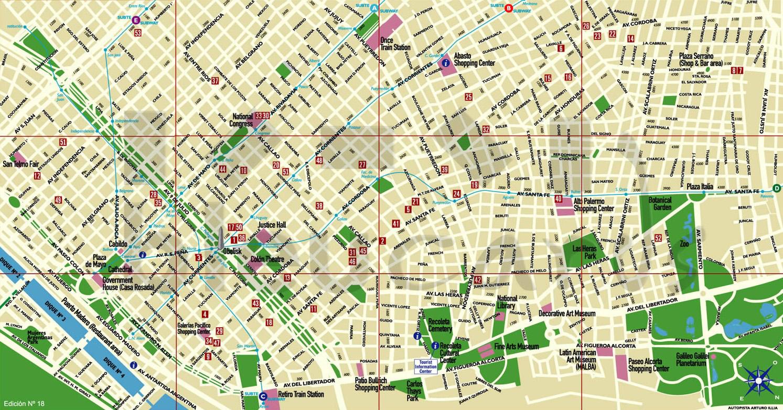 Mapa interactivo buenos aires