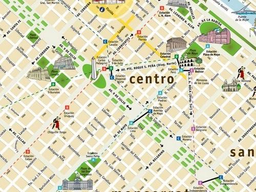 Mapa interactivo de buenos aires