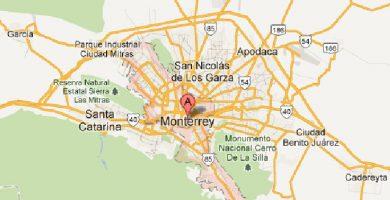 Mapa monterrey