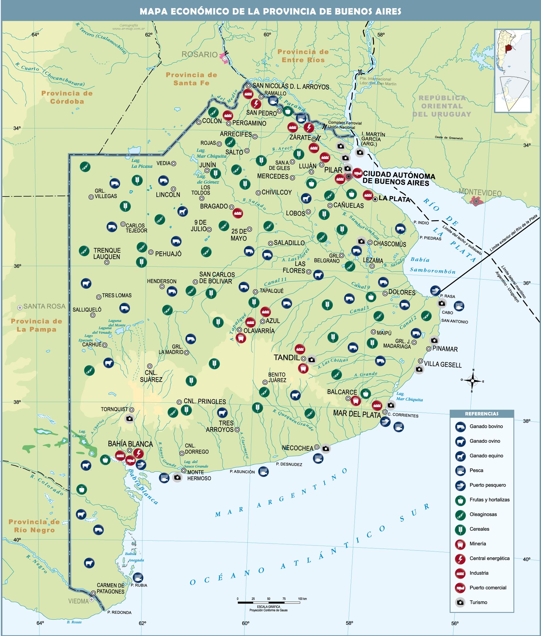 Mapa provincia buenos aires