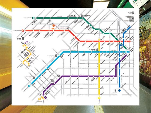 Mapa subterraneo