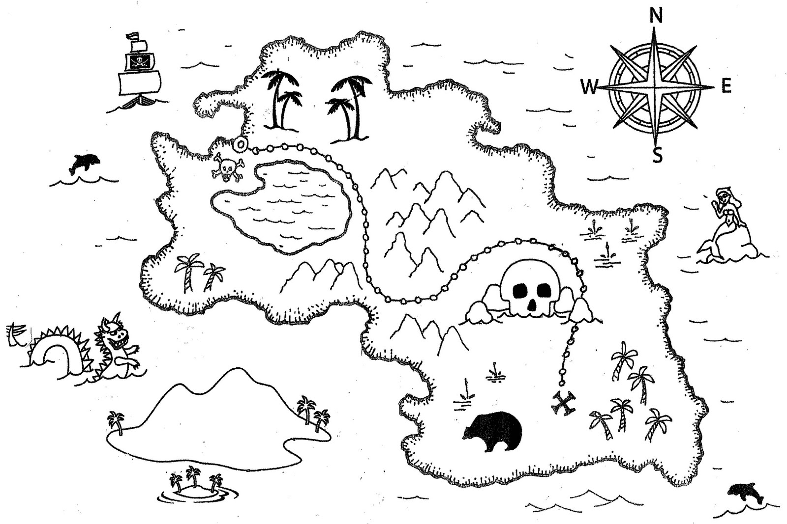 Mapa del tesoro for El dibujo de los arquitectos pdf