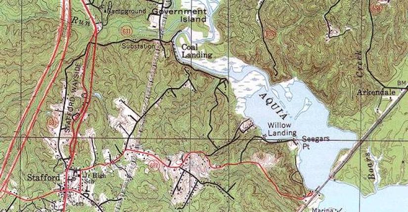 Mapa topografico como es