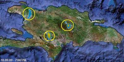 Ver el mapa de la republica dominicana via satelite, fotos